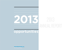 Puma Biotechnology 2013 Annual Report