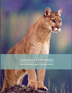 Puma Biotechnology 2014 Annual Report